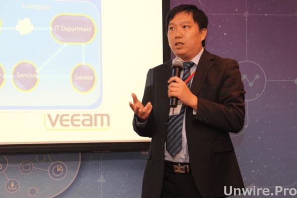 Veeam 香港及台灣系統工程師經理胡頌琛
