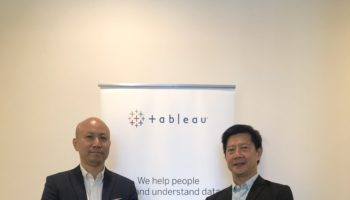 左:Tableau港澳台地區主管 Joe Ho;右:Tableau亞太區客戶諮詢總監TC Gan
